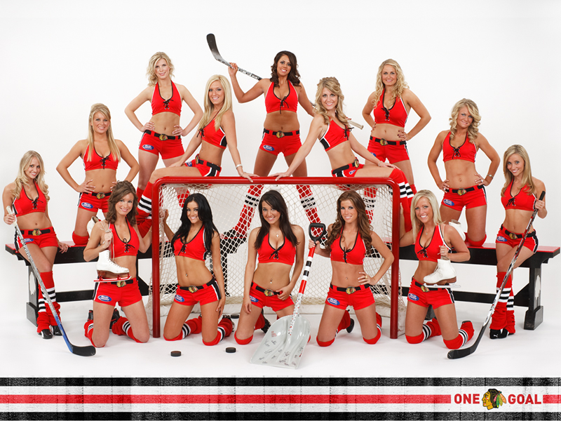 + Blackhawks Ice Crew Calendar Photoshoot