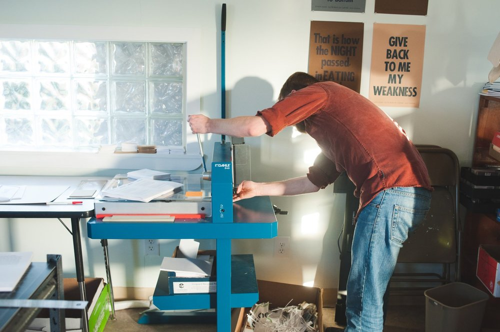 Book-making by Hand, Sitka AK