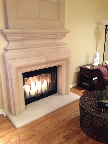 Fireplace Candles Becky Howe