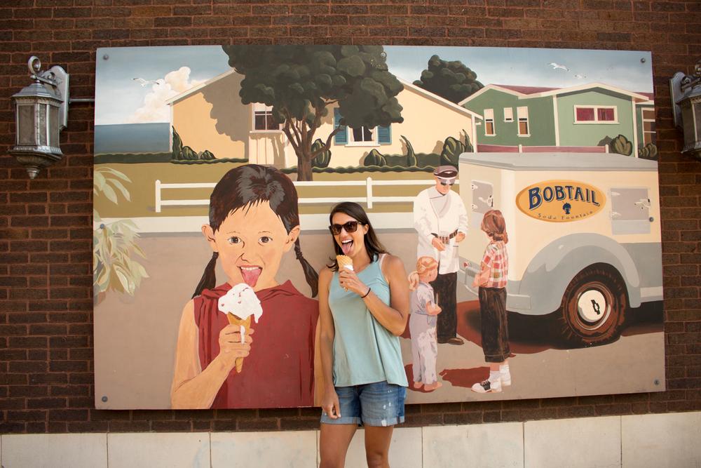 Bobtail ice cream.