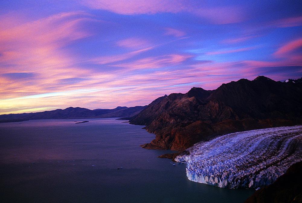 Argentina.Patagonia.Chalten.ViedmaGlacier.Sunset.jpg