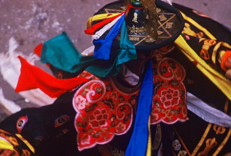 Bhutan.Paro.Tsechu.BlackHatDance(2000)2 copy.jpg