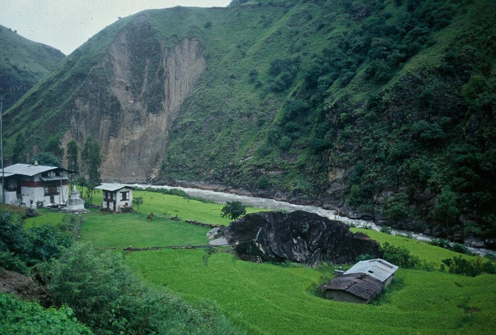 Bhutan.Tashigang.FarmHouse(1998).jpg