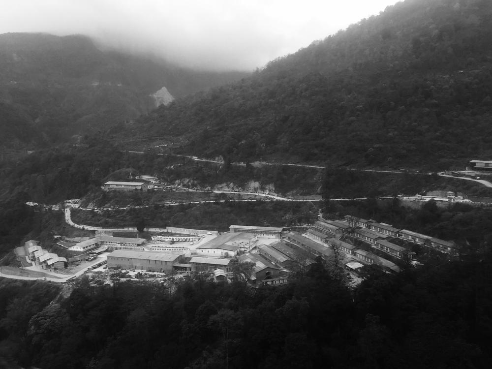 """Damn Colony""   Jaypee Hydropower Camp, Trongsa, Bhutan"