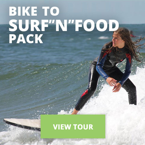 "Bike to Surf""n""Food Pack"
