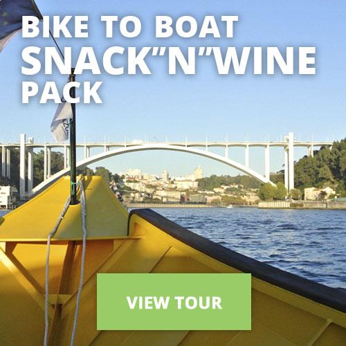 """Bike to Boat Snack""""N""""Wine"""