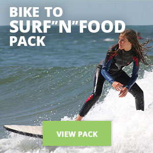 "Copy of Bike to Surf""N""Food Pack"