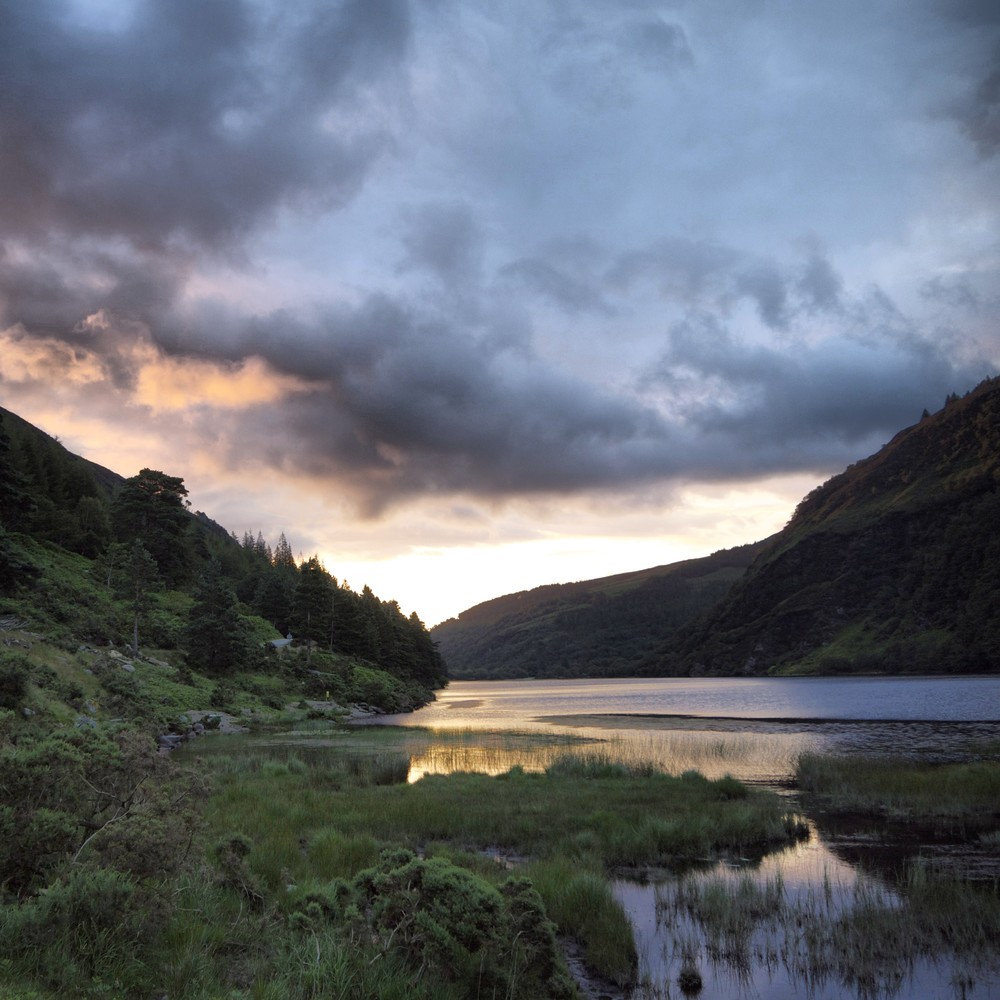 The lakes at Glendalough