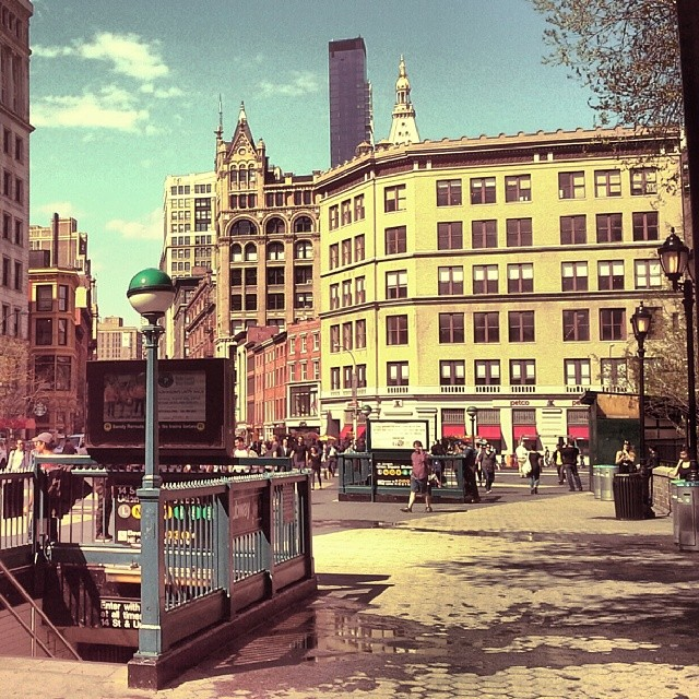 Union Square Retro