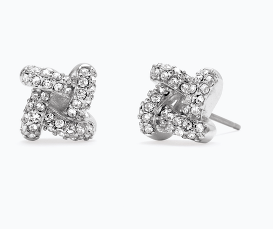 Pave Knot Studs - Looking for the perfect gift for your girls? Show them how you could