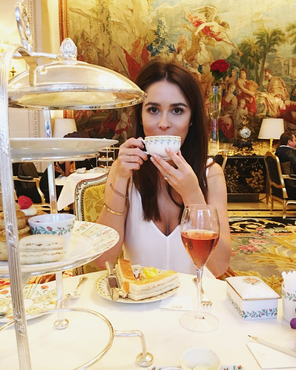 High Tea at The Four Seasons George V