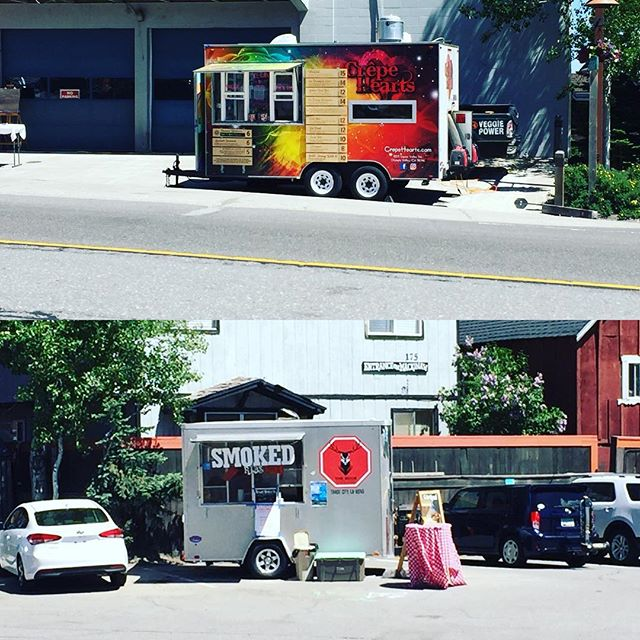 Tahoe City Wine Walk was goin' off! @crepehearts and Buck Stops Here food trailers were in the mix.