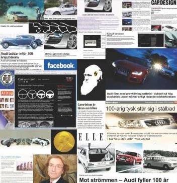 The Carwinism blog became the go to source for car journalists and business writers who's job it was to make sense of the car crisis. Which resulted in a lot of earned media for Audi and re-affirmed its technology leadership.