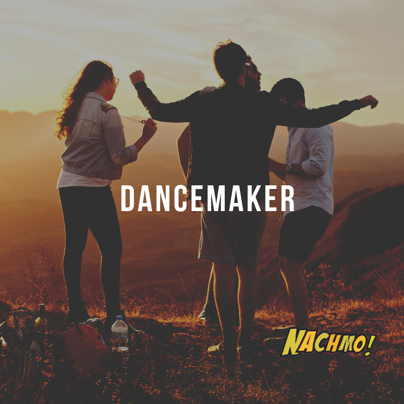 Jan 6: Dancemaker - Prompt: Use the free Dancemaker app to create some fun dance phrases. You can pick the words yourself or use the randomizer. Take a screenshot and share you awesome phrase! Download: google play, itunesPlus: Do this three times and pick the one you like best. Call this phrase E.Lens: Use the app to make a phrase but hold the camera (or find a unique way to strap it to a body part) and do the phrase while holding the camera instead of taping yourself.Check out our blog post with the designer of the Dancemaker app: Henry Holmes.