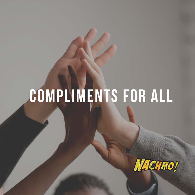 Jan 31: Compliments for all! - Prompt: Look through #NACHMOprompts2019, and comment on someone else's post saying what you like best about it. Send us your feedback on the prompts. What was your favorite prompt and why?Plus: What prompts would you like us to include next year that we didn't have this year?Lens: What questions do you have about film that you would like focused on next year?