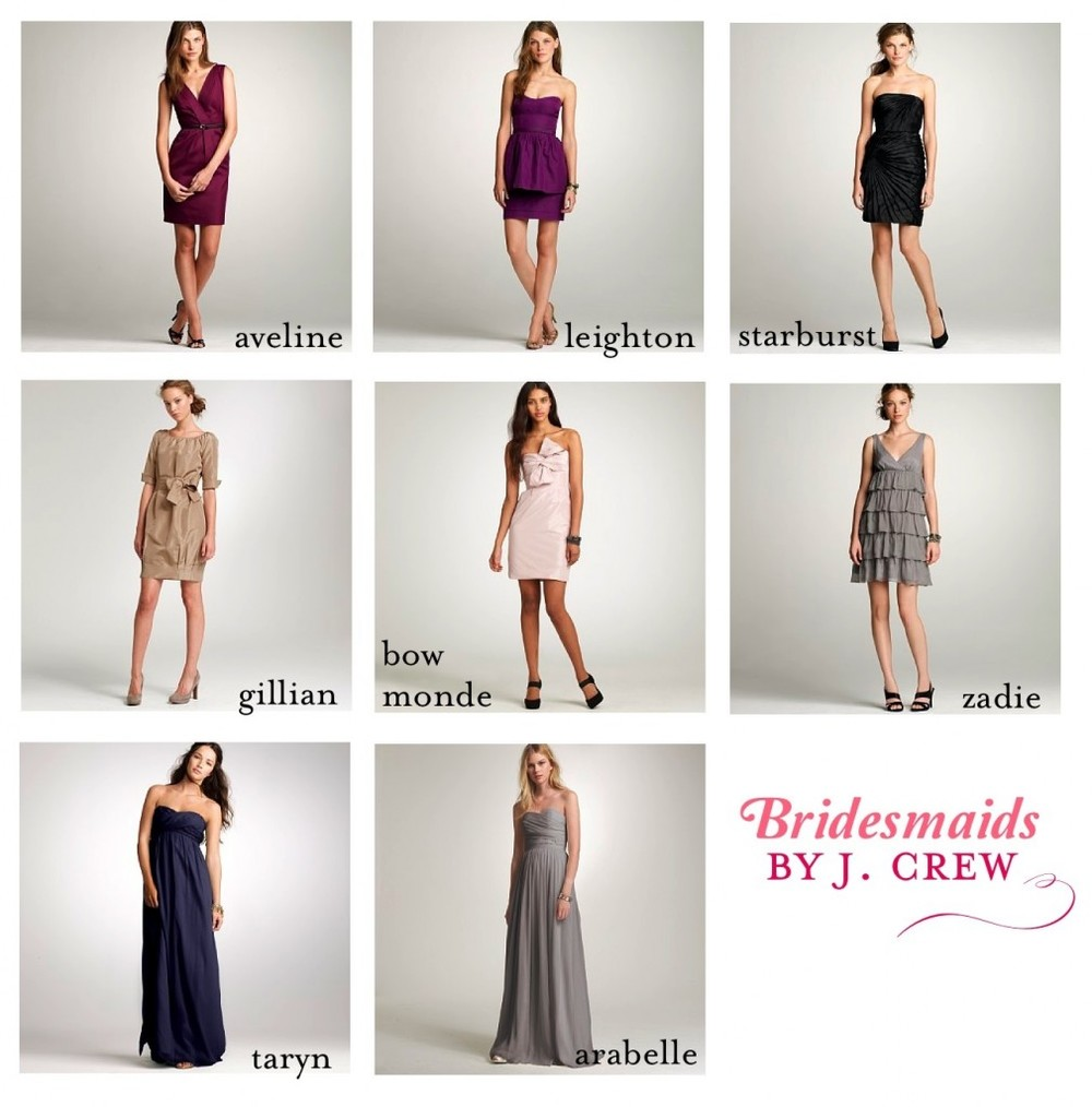 J crew bridesmaids jomygoodness i love j crew i love bridesmaid dresses that you can wear to more than just a wedding i love j crews bridesmaid dresses for that very reason ombrellifo Choice Image