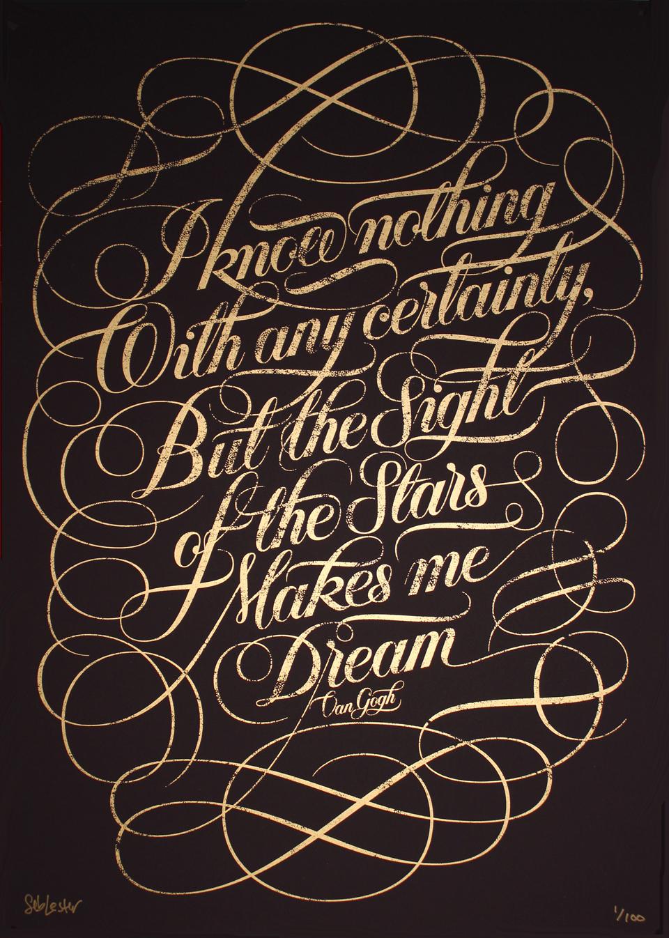 Seb Lester Print