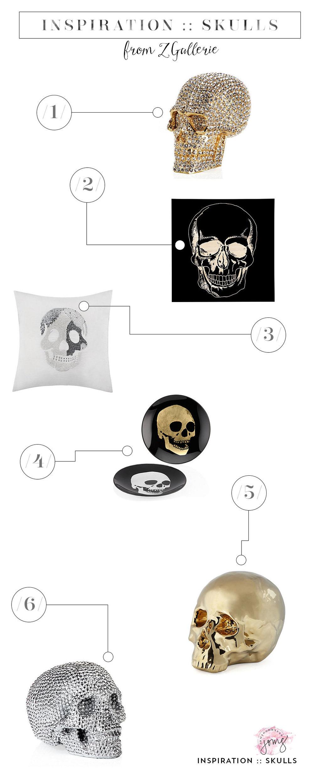 Skulls by Z Gallerie