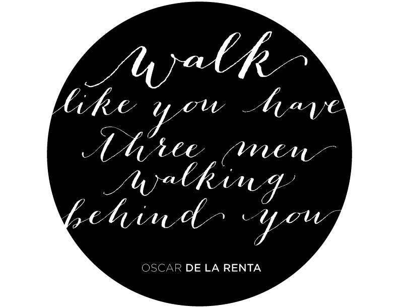 Oscar de la Renta quote
