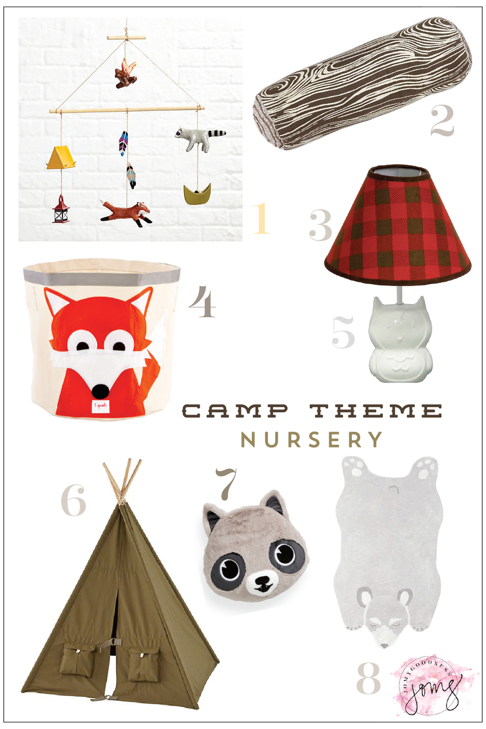 Camp Theme Nursery Inspiration