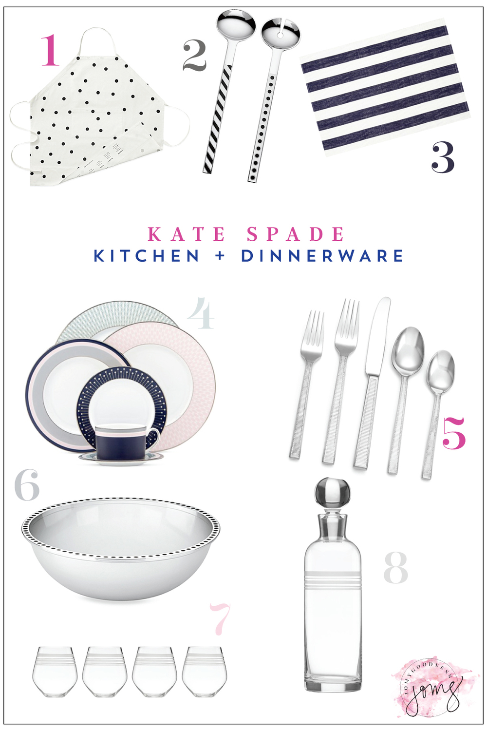 Kate Spade Kitchen & Dinnerware