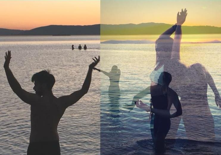 H2flOwSunset Water Dance -
