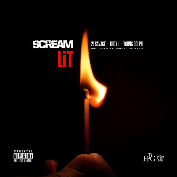 """DJ Scream is heating up the summer with his new anthem, """"Lit"""", featuring 21 Savage, Juicy J, and Young Dolph, produced by Durdy Costello. Listen to """"Lit"""" on SoundCloud then head over to iTunes to download. [DOWNLOAD ON ITUNES] [STREAM ON SOUNDCLOUD]"""