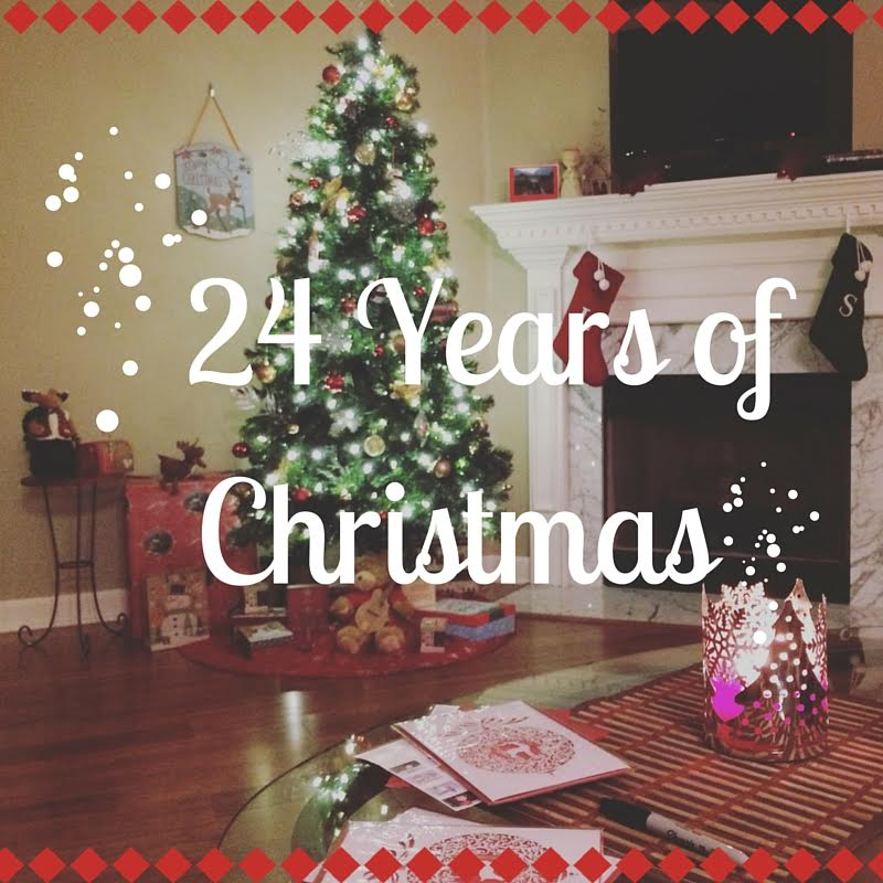 Sierra's 24 Years of Christmas playlist