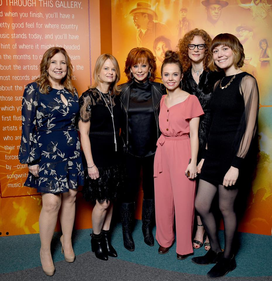 First Ladies of Bluegrass w/ Reba Photo by: Jason Kempen + Terry Wyatt at Getty Images for CMHOF
