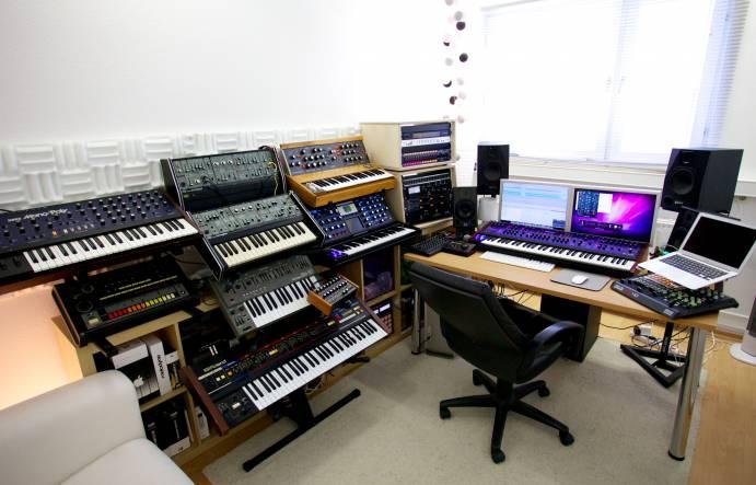 El control room de  Gregor Tresher