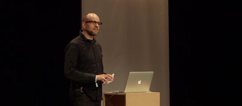 Robert Henke en el Ableton Loop de 2015
