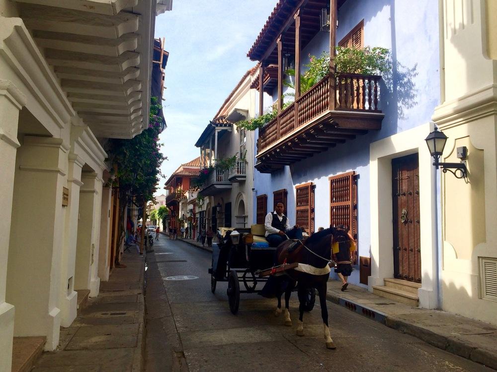 Ciudad amurallada, Cartagena.