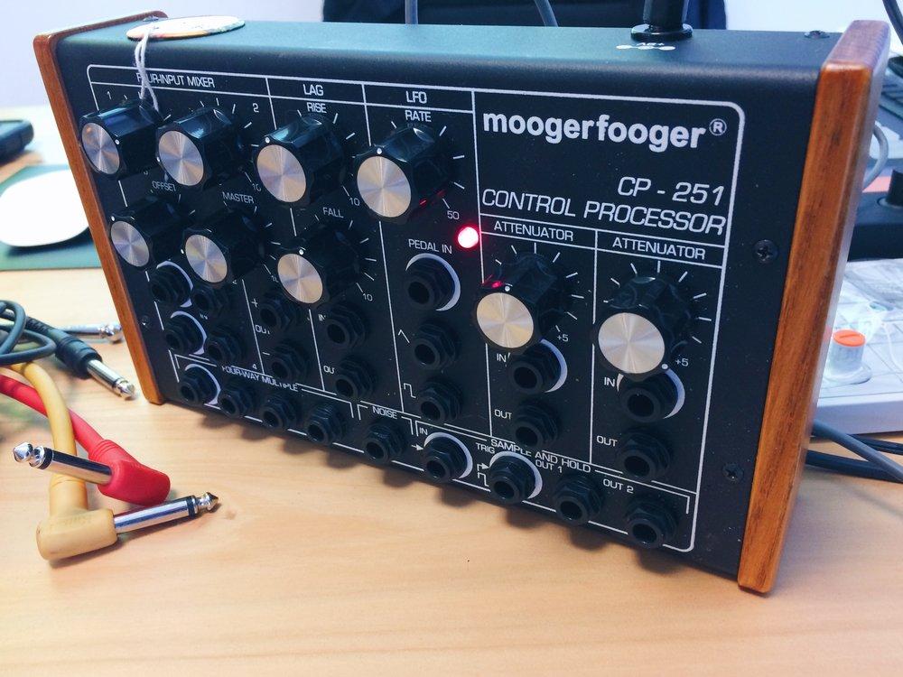 Moogerfooger Control Processor