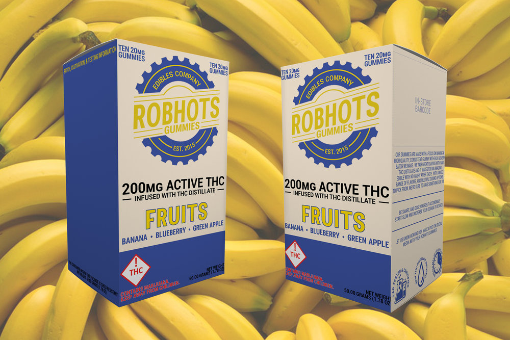 A look at the new Robhots Fruits 200mg multipack gummies.