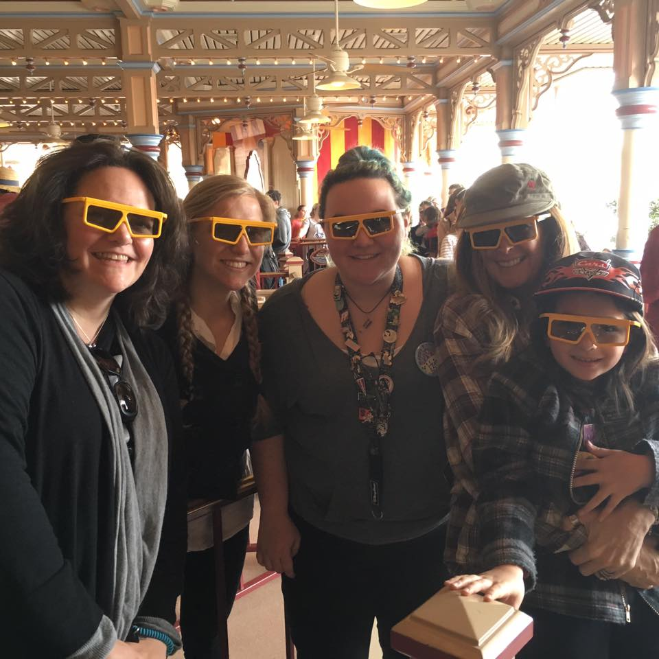 Jane Reyes, who popped up the very first DCS in America, drove down to Disneyland with her family.  We took a day off to join them.  After all, who misses a trip to Disneyland with a fellow DCS co-conspirator?