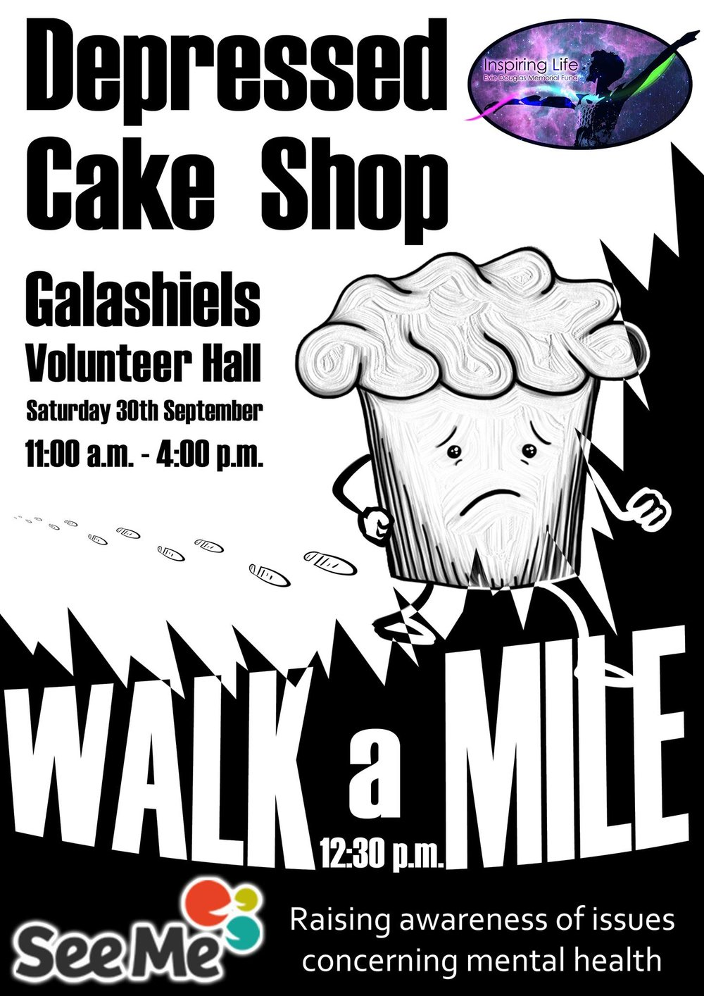 Cake Shop and Walk a Mile