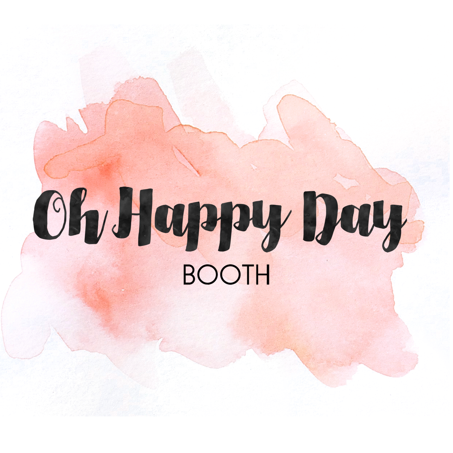 Oh Happy Day Booth