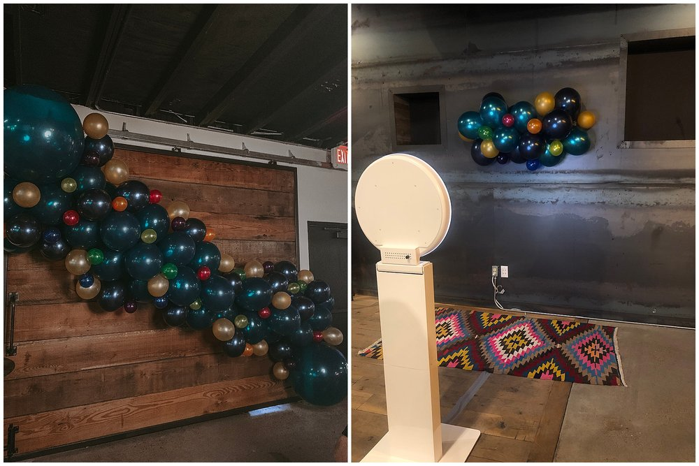 This installation was for an employee appreciation event hosted by @AlamoDrafthouse.