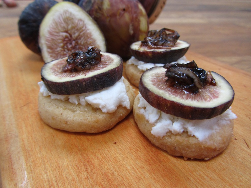 Balsamic Shallots with Fig