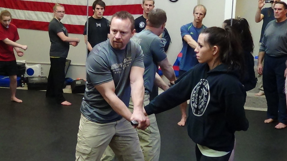 Taught by WingGate Certified Krav Maga Instructor Joseph Gleed, and Jen Gleed.