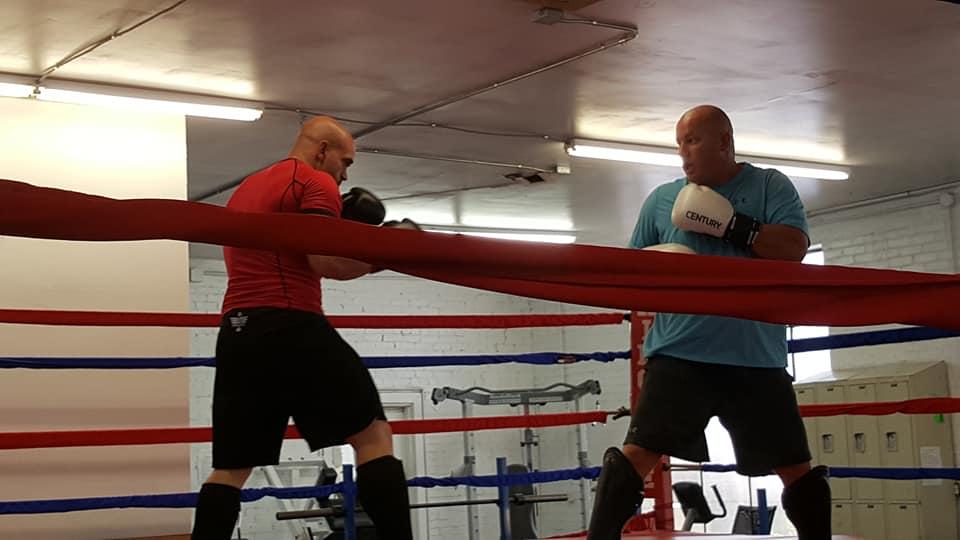 Adult Kickboxing Class!