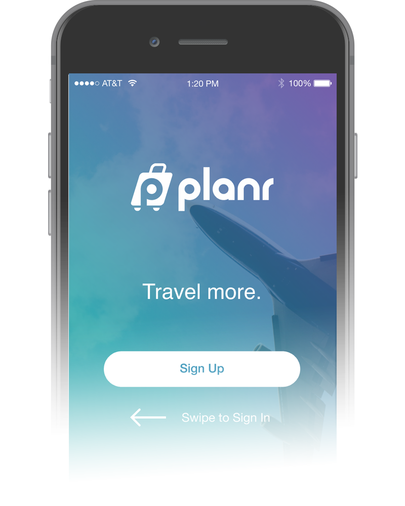 Travel More. Plan Less. - I wanted to address the frustration of group travel planning - an issue I have experienced myself all to often. To help aid in the issue, I created Planr, a fictional mobile app designed to innovate and simplify the planning process and make the experience collaborative between users. Planr would enable users to create a trip, set a destination, queue destination activities, add friends, and actively vote on the group's selected activities, and more.Done as a final project at General Assembly: User Experience Design. (View the video below to see Planr in action.)