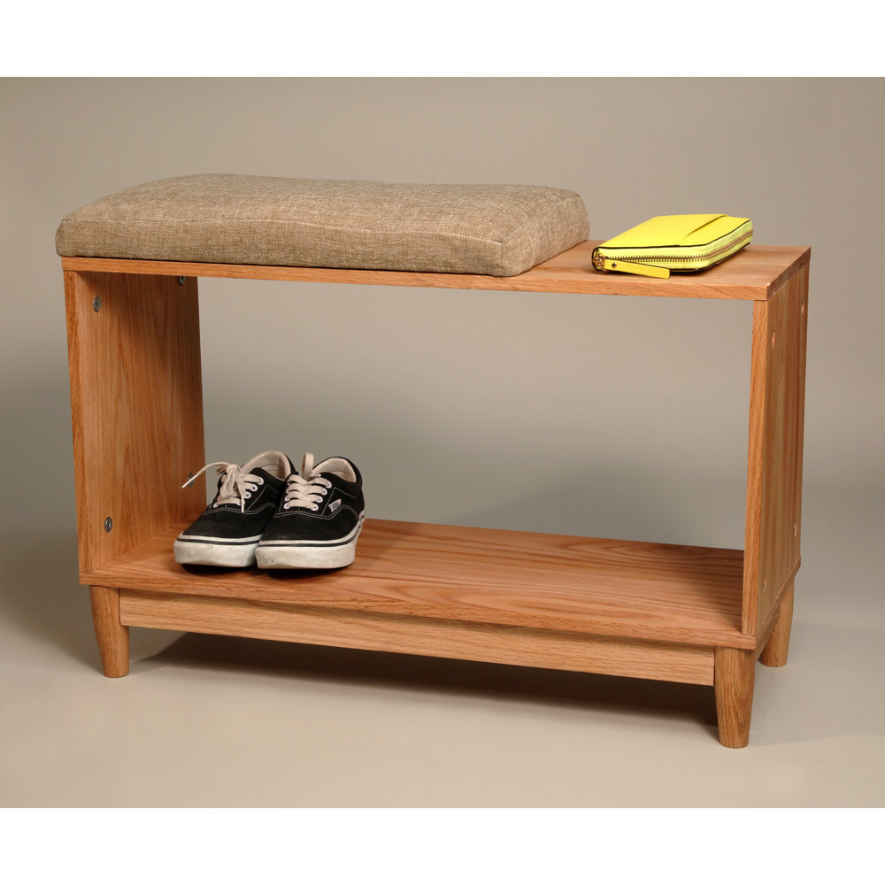 Upholstered Entryway Bench (2016)