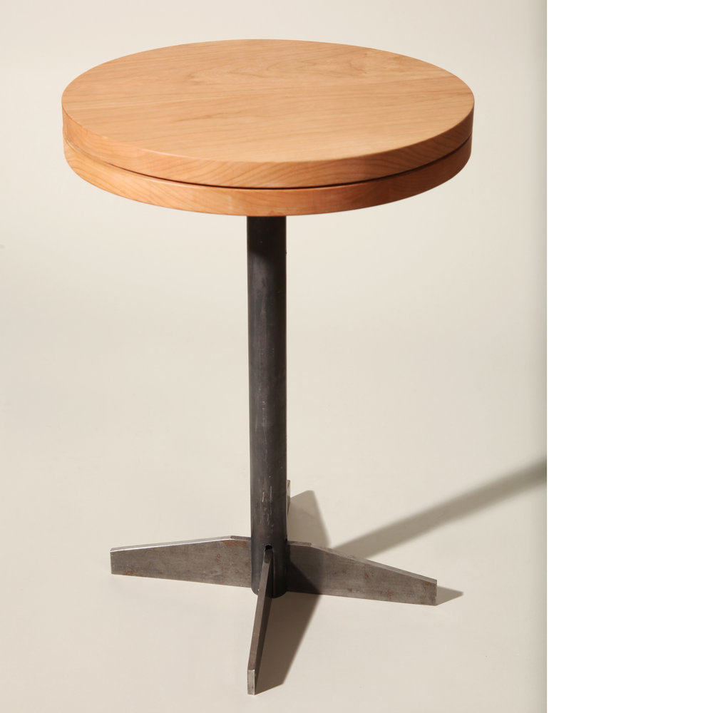 Swivel Side Table (2016)