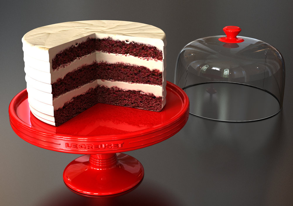 Le Creuset Cake Stand Concept (2017)