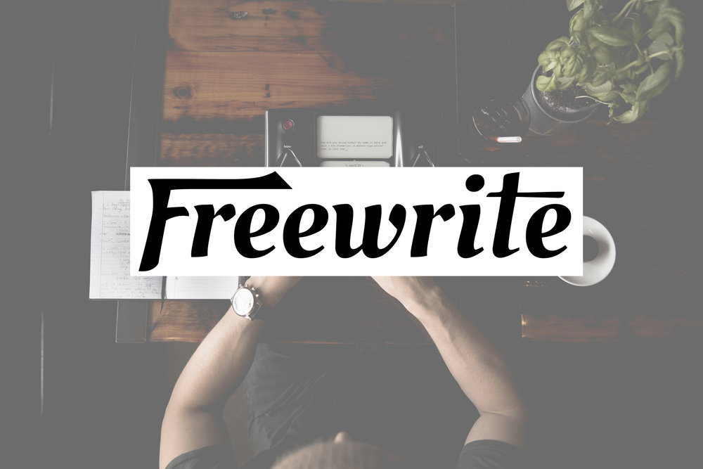 Freewrite - Product deployment content for company's website
