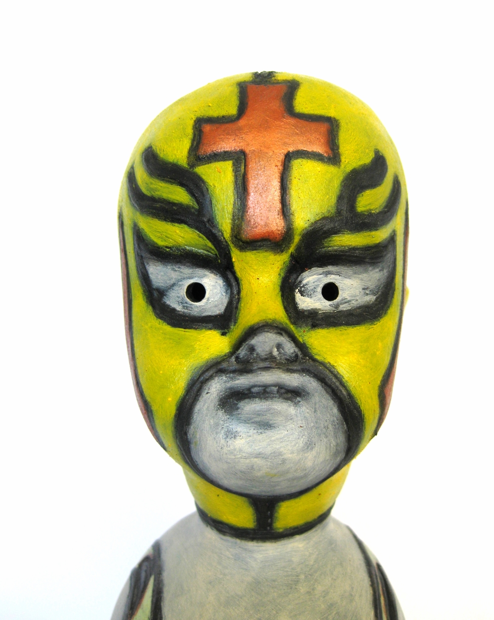 El Pollo Creiente (The Chicken Believer) Head Detail