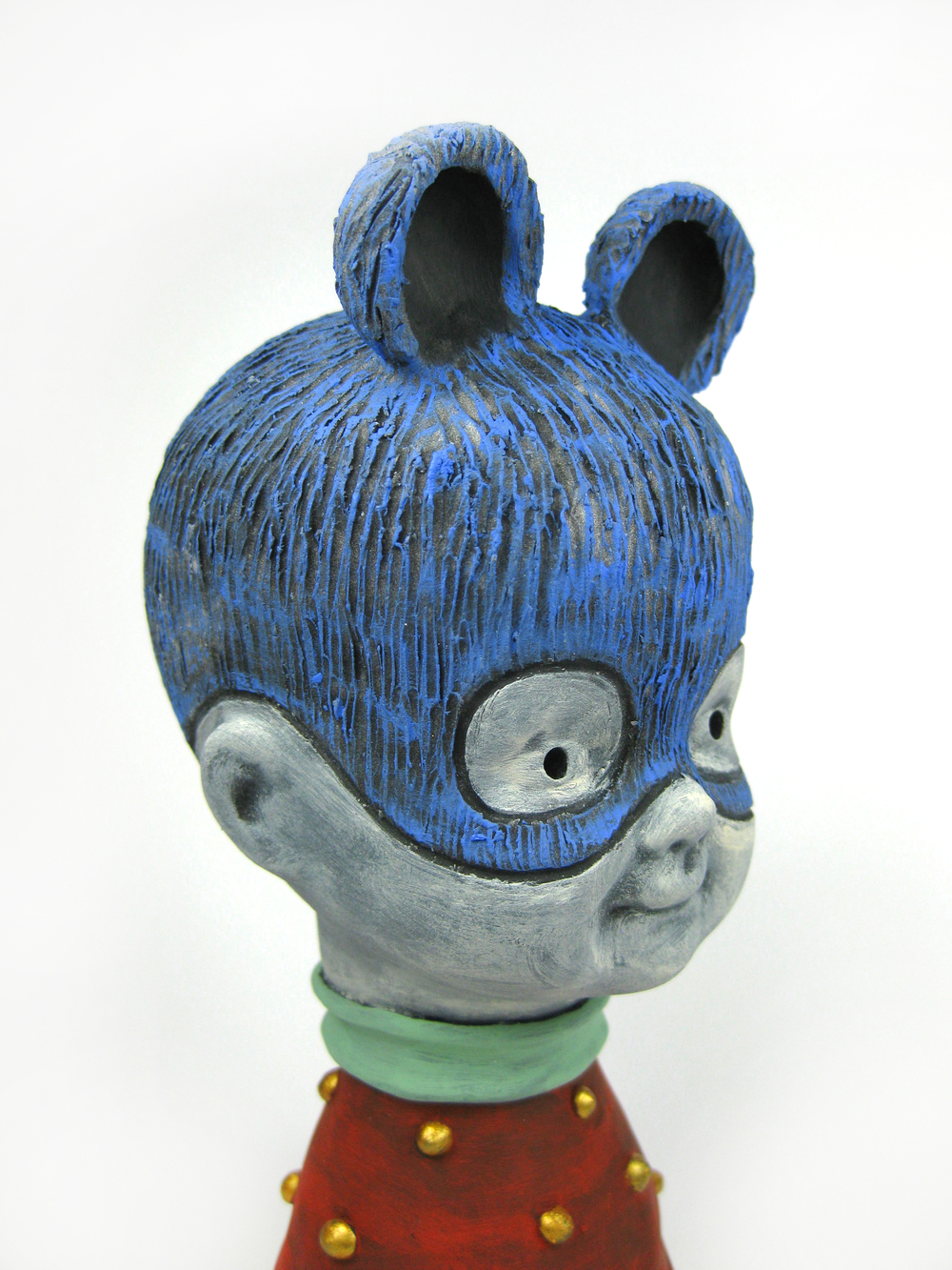 Blue Bear (Head Detail)