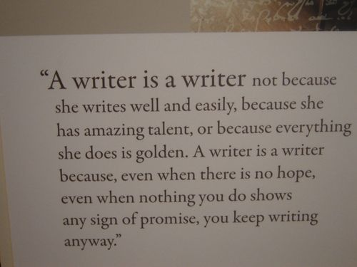 thewritewire: Writers Writers rock. Enough said. :) A.M.