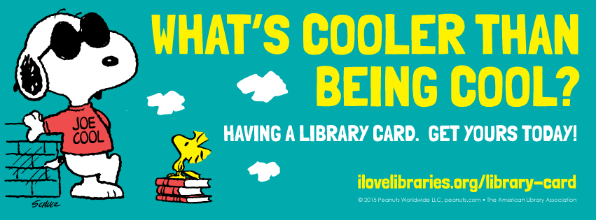 americanlibraryassoc: What are you or your library doing for Library Card Sign-up Month? :) For Library Card Sign-up Month, I'm reblogging this post, and saying please love your libraries. They are free to use, and have all kinds of free printed and electronic content. You can even check out ebooks and audiobooks. Visit your local library today, and sign up for a library card, if you don't have one already. A.M.